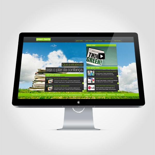 Proposta site Green Media