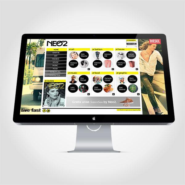 Proposta site + app iPad Revista Neo 2